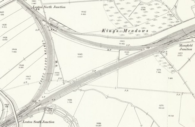 1899 Ordnance Survey map extract